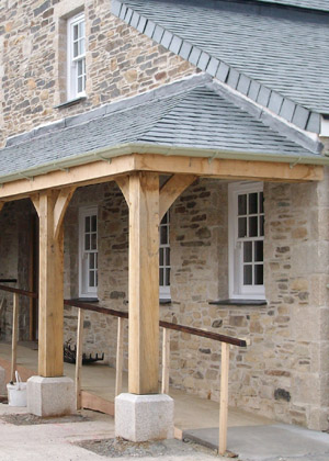 Cornwall joiners Bespoke Porches